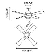 ventilador-disc-faro-iluminacion-tienda-mled-medidas